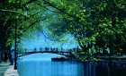 Le pont des amours à Annecy