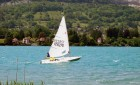 Activité sur le lac d'Annecy