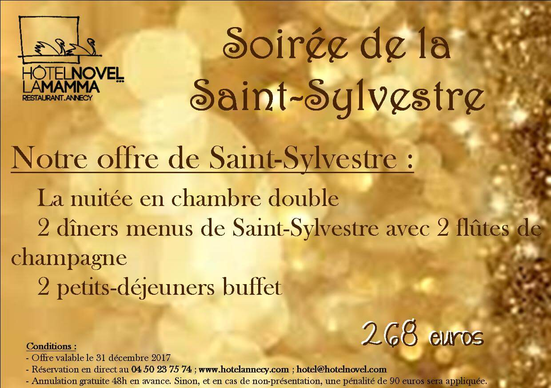 soirée saint sylvestre