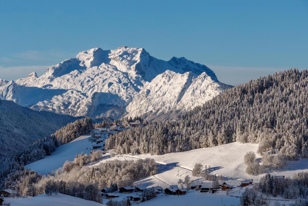 montagnes autour d'Annecy