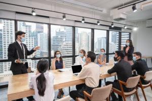 Conférence comment s'adapter aux mesures sanitaires pendant la Covid 19